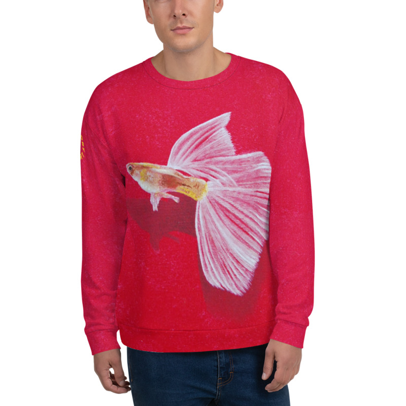 3D Fish Sweatshirt